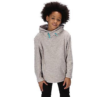 Regatta Boys Kacie Stripe Fleece Cowl Neck Sweater Hoodie