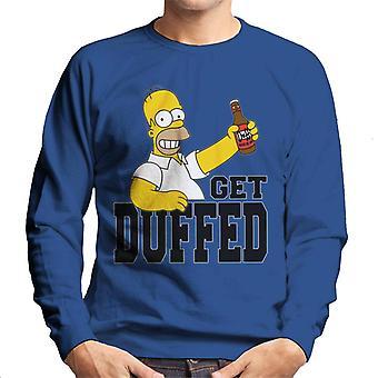 The Simpsons får duffed Homer mænd ' s sweatshirt