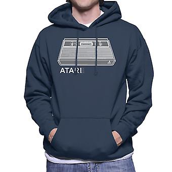 Atari 2600 Video Computer System Men's Hooded Sweatshirt