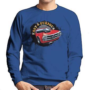 Nopea ja raivoissaan auto Splatter miesten ' s paita