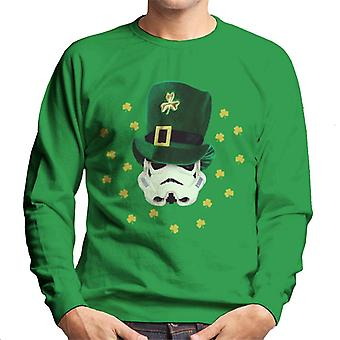 Original Stormtrooper St Patricks Day Irish Top Hat Men's Sweatshirt