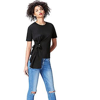 Vinden. Women's Crew Neck T-shirt, Black EU L (US 10)