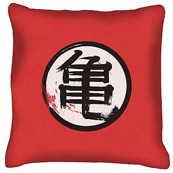 Dragon Ball Kame Kanji Cushion