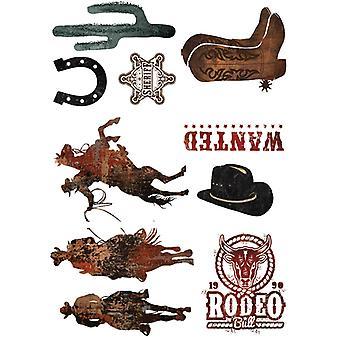 Re-Design med Prima Rodeo 24x34 Tums Decor Överföringar