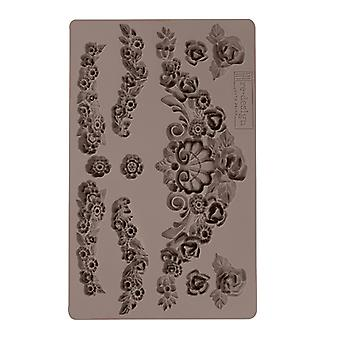 Re-Design with Prima Tillurie Flourishes 5x8 Inch Mould