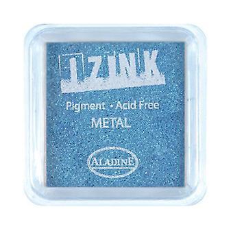 Aladine Inkpad Izink Pigment Metaal Lichtblauw