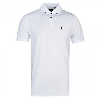 Luke 1977 New Bil White Polo Shirt ZM471402