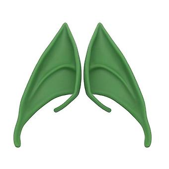 Halloween Latex Elf Ears, Fairy Pixie Cosplay Hook On Fancy Dress Ears