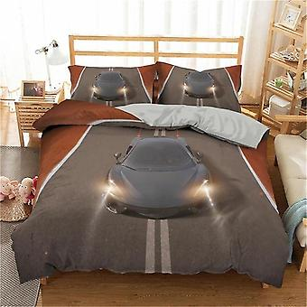 3d Luxury Geometric Print Duvet Cover & Pillowcase 3pcs Bedding Sets