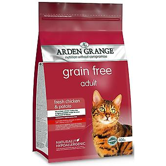Arden Grange Grain Free Adult Cat With Fresh Chicken & Potato - 4kg