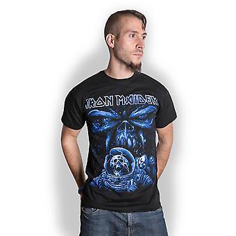 Iron Maiden Final Frontier Blue Album Spaceman Official T-Shirt Unisex