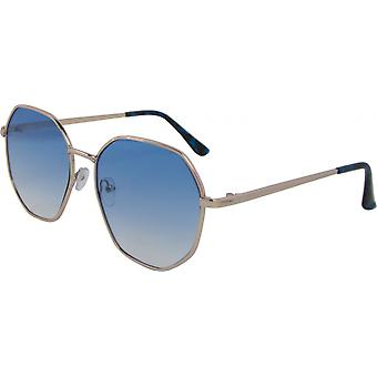 Sunglasses Unisex around Kat. 3 gold/blue (5190-A)