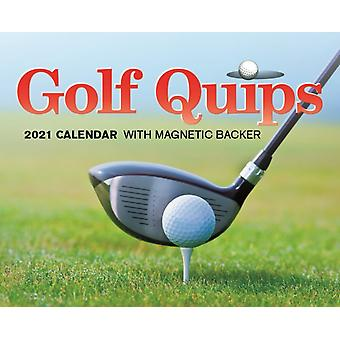 Golf Quips Mini Box Calendar 2021