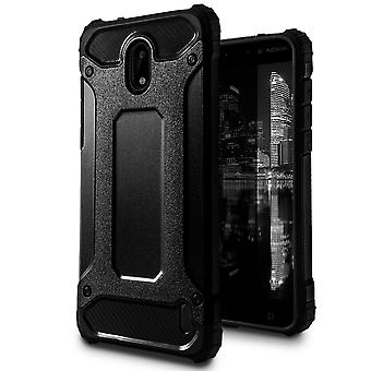 Mobile Protection for Nokia 2   Hard Hybrid Shell in Black