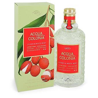 4711 Acqua colonia lychee & witte munt eau de cologne spray (unisex) door 4711 552466 169 ml