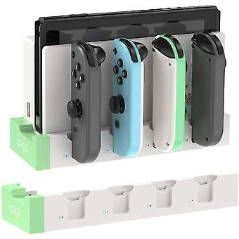 Switch Joy-con-controller Charger Dock Stand Station Holder For Nintendo-switch Ns Joy-con Game Support Dock For Charging