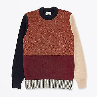 Oliver Spencer - Blenheim - Pull en tricot à panneaux de contraste - Multi