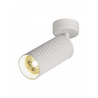 Spot Fixed On Surface Isabel 1 Bulb Sanded White 8 Cm