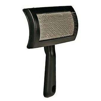 Trixie Carda Handle Plastic, One Side (Dogs , Grooming & Wellbeing , Brushes & Combs)