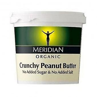 Meridian - Org Crunch Peanut ButterNoSalt 1000g