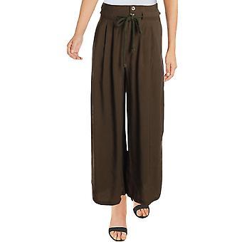 Aqua | Pantalon à jambes larges plissé
