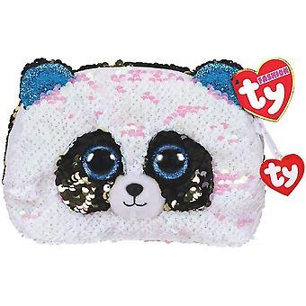 Lantejoulas de bolsa de acessórios TY Bamboo Panda