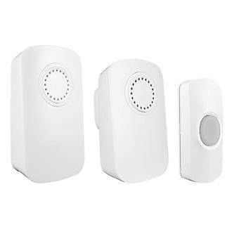 Uni-Com Smart Portable Chime & Plug-In Door Chime (Twin Pack) 66712