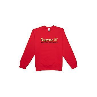Supreme Timberland Crewneck Red - Clothing