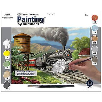 Paint by Number Set Adult Large - No. 90's Daily Run
