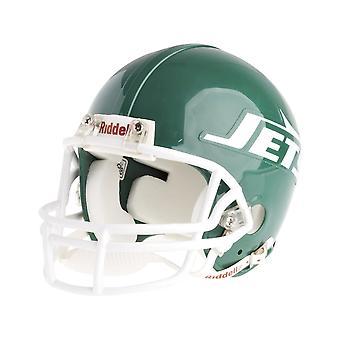Riddell VSR4 Mini Football Helmet - NFL New York Jets 1978-89