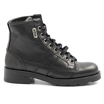 Women's Oxs Frank 1901 Leather Lace-Up Ankle Boot