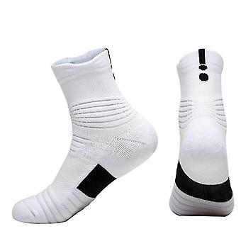 Professionele Sports Socks Mannen, Basketbal Running Handdoek bodem, Anti-slip boot,