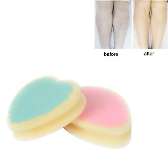 New Magic Painless Hair Removal Depilation Sponge Pad - Save Way To Remove Leg