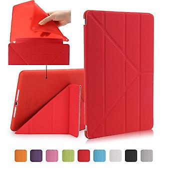 Air Smart Case, Shapes Stand Thin Pu Leather Cover For Ipad