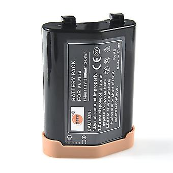 Dste® en-el4a baterie li-ion reîncărcabilă pentru nikon en-el4a, d2z, d2h, d2hs, d2x, d2xs, d3, d3s, d3