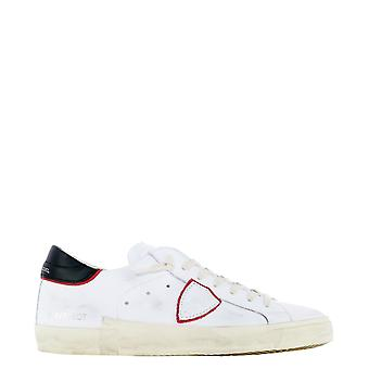 Philippe Model Prluv024 Men's White Leather Sneakers