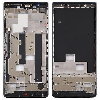 Middle Frame Bezel tavla med sidotangenter för BlackBerry KEY2 LE / KEY2 Lite (Svart)