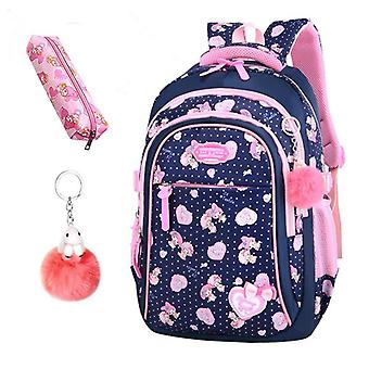 Elementary Backpack, Stars Print Student Bags