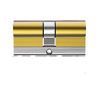 Super C-Klasse Messing-Schlosszylinder, 54 Klinge Doppelfräsen 32 Track Keys