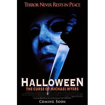 Halloween 6 la maldición de Michael Myers Movie Poster imprimir (27 x 40)