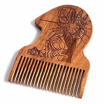 Rautamies puinen partakampa