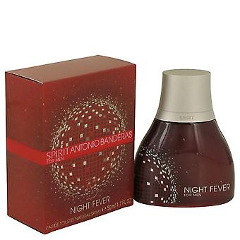 Spirit Night Fever Eau De Toilette Spray By Antonio Banderas 1.7 oz Eau De Toilette Spray