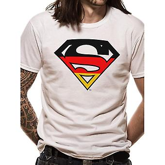 Superman Adults Unisex Adults German Flag Design T-Shirt