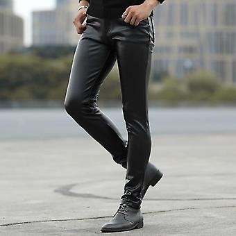Young Tight Leather Pant