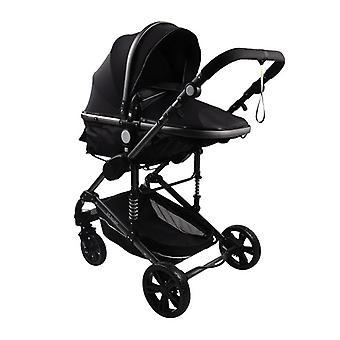 Baby Stroller High-landscape Bidirectional Baby Buggy Pram Folding Stroller