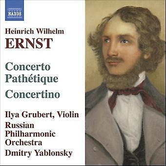 Ernst - Ernst: Concerto Path Tique; Concertino [CD] USA import