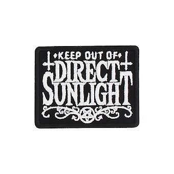 グラインドストアは、パッチ上の直射日光の鉄の防ぐ