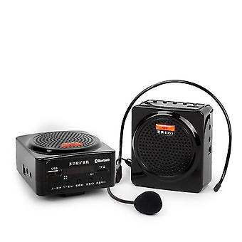 Voice Amplifier,  Bluetooth  Loudspeaker, Support Fm Radio Tf Usb