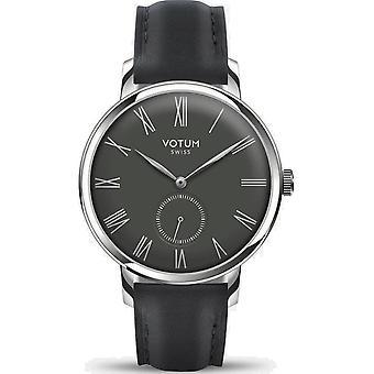 VOTUM - Reloj de señoras - VINTAGE SMALL - VINTAGE - V11.10.42.01 - correa de cuero - negro