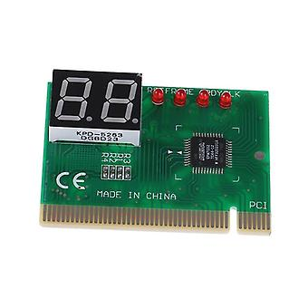 Carte postale Pci à 2 chiffres Lcd Display Pc Analyzer Diagnostic Card Motherboard
